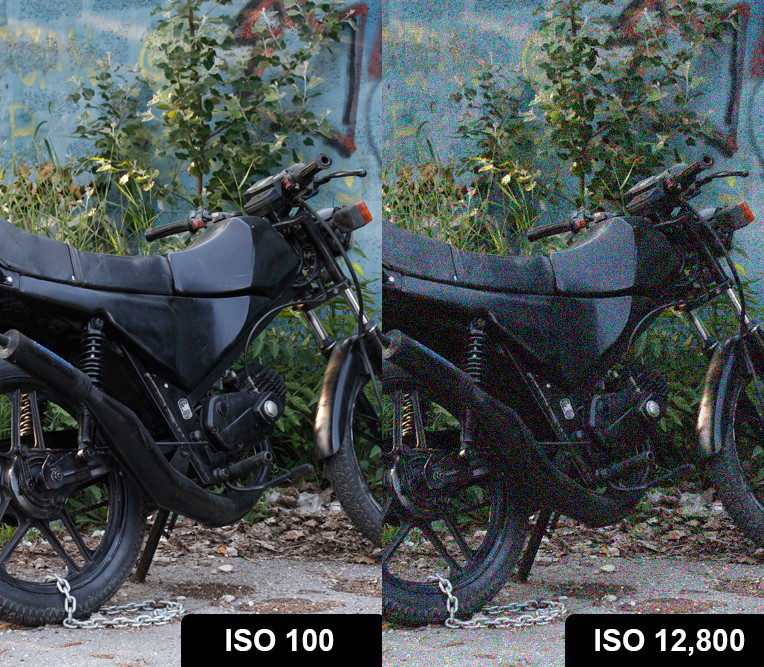 iso-comparison-100-vs12800