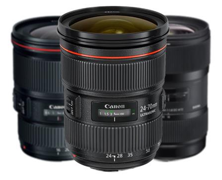 Canon lenses for wedding photography