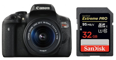 Best Memory Cards For Canon T6i Smashing Camera