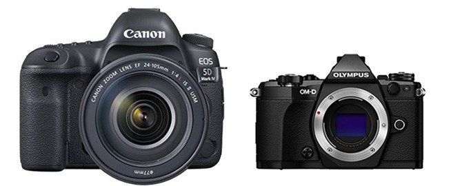 canon 5d iv vs olympus e m5 ii comparison smashing camera. Black Bedroom Furniture Sets. Home Design Ideas