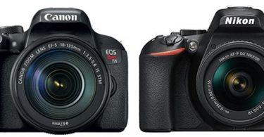 Canon T7i Vs Nikon D5600 Comparison Smashing Camera