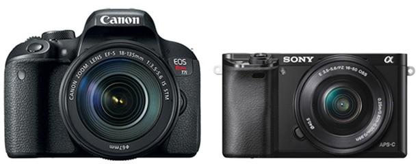 Canon T7i Vs Sony A6000 Comparison Smashing Camera
