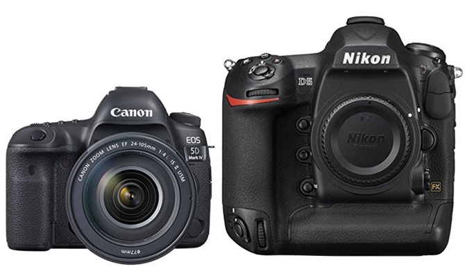 Lets See How The Canon 5D IV Compares To Most Expensive Nikon D5 They Are Aimed At Different Types Of Photographers But If Youre In Market For A