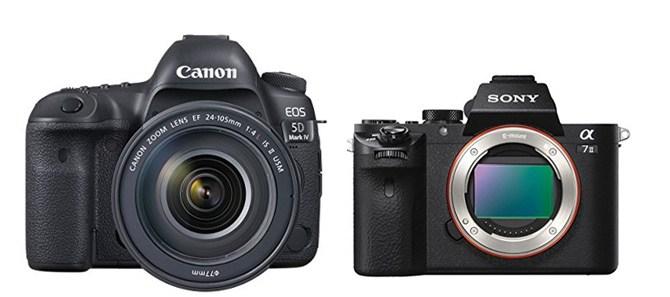 Canon 5D IV vs Sony A7 II – Comparison | Smashing Camera