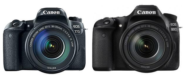 Canon 77D vs Canon 80D – Comparison   Smashing Camera