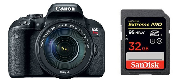 Best Memory Cards For Canon T7i Smashing Camera